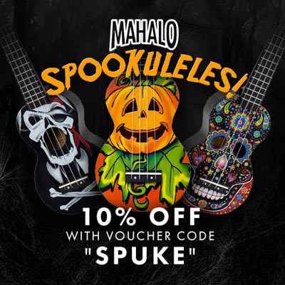 10% OFF Spookuleles at GAK!