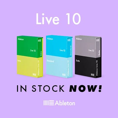 Ableton Live 10 In Stock Now!