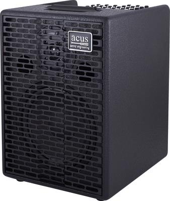 Acus AC802 One ForStrings-8 Black Angle
