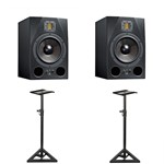 Adam A8X Active Studio Monitor (Pair) With Monitor Stands