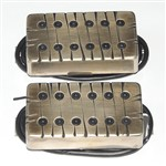 Bare Knuckle Pickups Juggernaut Covered (Bridge, 6 String, F-Spaced, 2-Conductor Tyger)