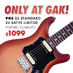 Brand new Limited edition PRS SII available now at GAK