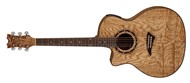Dean EQA Exotica Quilt Ash Left Hand (Gloss Natural)
