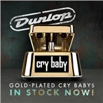 Dunlop Gold Plated Cry Baby