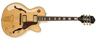 Epiphone Joe Pass Emperor-II PRO, Natural, Case and Cable Deal