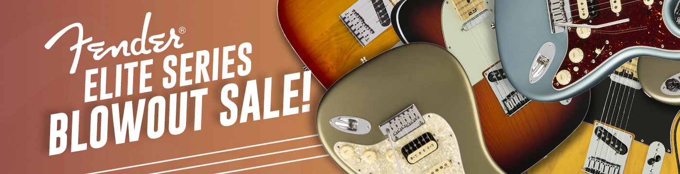 Fender Elite Sale
