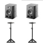 Focal Alpha 50 Active Studio Monitor (Pair) With Monitor Stands