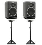 Focal CMS 50 (Pair) With Monitor Stands