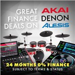 Great Finance on Akai, Alesis & Denon