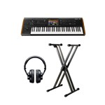 Korg Kronos 2 Music Workstation 61 Bundle With Included Accessories