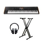 Korg Kronos 2 88 With Headphones and Stand Bundle
