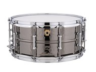 Ludwig Black Beauty 14x6.5 Hammered, Tube Lugs