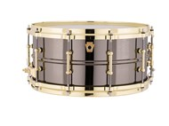 Ludwig Black Beauty 14x6.5 with gold hardware