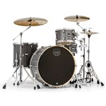 Mapex MA446S Mars Big Beat 4 Piece Kit (Smokewood) + Chrome Hardware Pack bundle