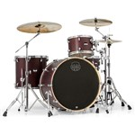 Mapex MA446S Mars Big Beat 4 Piece Shell Pack (Bloodwood)  Bundle