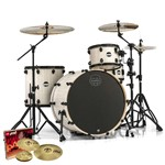 Mapex MA446S Mars Big Beat 4 Piece Shell Pack (Bonewood)  + Hardware + Paiste PST 3 Cymbal Set