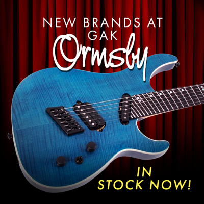 Ormsby Guitars - Now available at GAK!