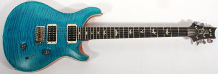 PRS 2016 Experience Custom 24 with Solid Rosewood Neck (Peacock Blue Satin)