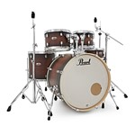 Pearl Decade Maple Fusion 5 piece Kit w/Hardware, Satin Brown Burst