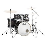 Pearl Decade Maple U.S Fusion 5 piece Kit w/Hardware, Satin Black Burst