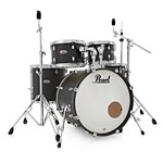 Pearl Decade Maple U.S Fusion 5 piece Kit w/Hardware, Satin Slate Black
