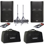 QSC K10 PA Speaker Bundle With Included Accessories