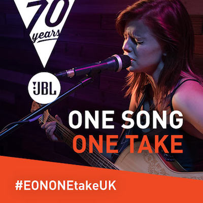 Singer songwriters are invited to enter the JBL EON ONE Take UK competition for a chance to win a JBL EON ONE PA system!
