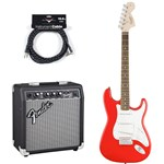 Squier Affinity Stratocaster Race Red Bundle