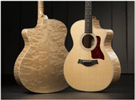 Taylor 214ce DLX QM Electro Acoustic (Special Edition Quilted Maple)
