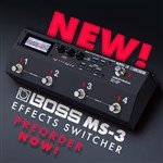 The All New Boss MS-3 Multi-Effects Pedal Switcher!