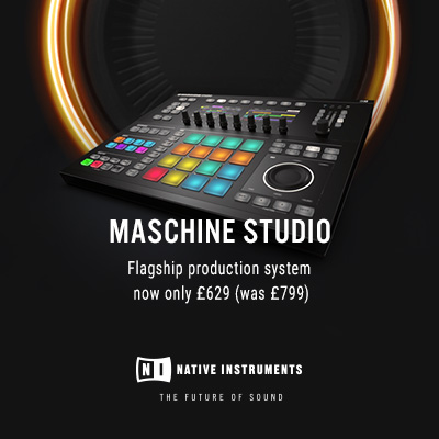 The Native Instruments Maschine Studio now reduced to only £629
