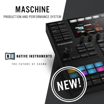 The New Native Instruments Maschine Mk3. Order Now!