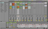 Ableton Live 9 Intro screen