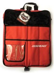 Ahead ASB Stick Bag (Black with Red Trim)