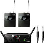 AKG WMS40 MINI 2 Instrument Set (ISM2 / ISM3 - 864.375 MHz / 864.850 MHz)