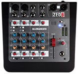 Allen & Heath ZED-6 Compact Analogue Mixer