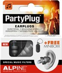 Alpine PartyPlug Ear Plugs, Black