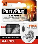 Alpine PartyPlug Ear Plugs, Silver