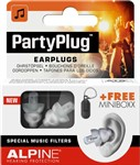 Alpine PartyPlug Ear Plugs, Transparent