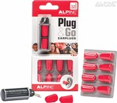 Alpine Plug & Go Foam Ear Plugs, 5 Pairs
