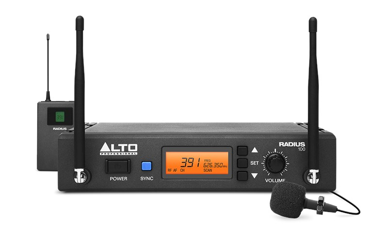 Alto Radius 100L Wireless Microphone