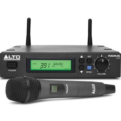 Alto Radius 200 Wireless Microphone