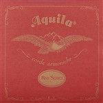 Aquila 83U Red Series Regular High G Soprano Ukulele Strings