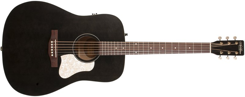 Art & Lutherie Americana Faded Black Front