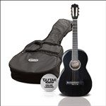 Ashton SPCG12 1/2 Size Classical Guitar Starter Pack (Black)