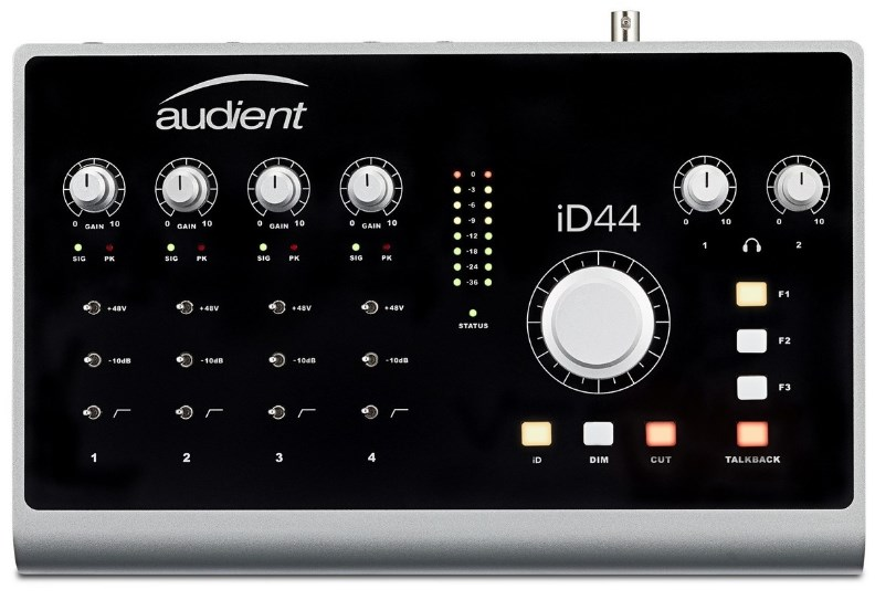 Audient ID44 USB Audio Interface Main