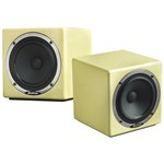 Avantone MixCube Active Studio Monitors, Cream, Pair