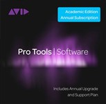 Avid Pro Tools Annual Subscription (Student/Teacher, Card)