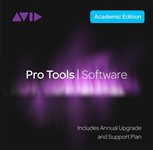 Avid Pro Tools with Annual Upgrade & Support Plan (Institutional, Card & iLok)