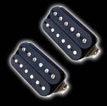 Bare Knuckle Pickups Aftermath Open Set (6 String, Black)